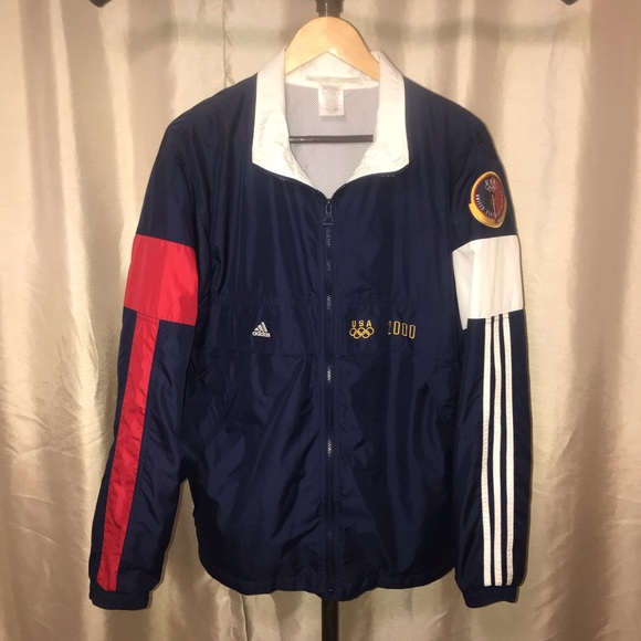 limited guantity cute cheap amazing selection Adidas 2000 Olympics Track Suit Jacket